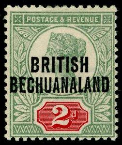 BECHUANALAND SG34, 2d grey-green & carmine, M MINT. Cat £24.