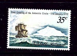 Norfolk Is 152 MNH 1973 Ship