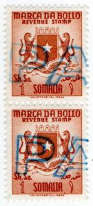 (I.B) Somalia Revenue : Marca da Bollo 1sh