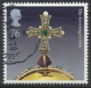 GB SG 3211  SC#2935 Crown Jewels  Used   see scan / details