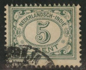 Netherlands Indies  Scott 113 used  from 1912-20 set