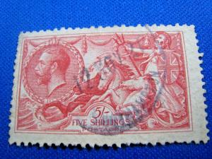 GREAT BRITAIN  -  SCOTT # 180  -   Used      (brig)