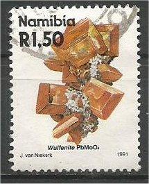 NAMIBIA, 1991, used 1.50r, Minerals. Scott 687