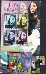 Guyana #3899-3902   MNH CV $15.75  (K1831L)