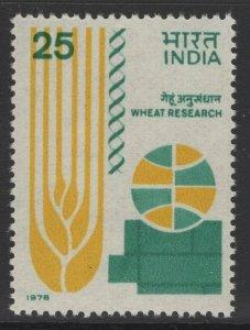 INDIA SG879 1978 WHEAT GENETICS SYMPOSIUM MNH