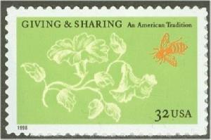 3243 Giving and Sharing F-VF MNH single