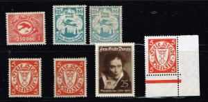 GERMANY STAMP DANZIG STAMPS COLLECTION LOT  #5