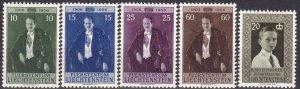Liechtenstein #303-7 F-VF Unused CV $10.25 (Z5173)