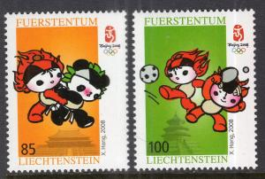 Liechtenstein 1412-1413 Summer Olympics MNH VF