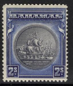 BAHAMAS SG131 1931 2/= SLATE-PURPLE & DEEP ULTRAMARINE MTD MINT