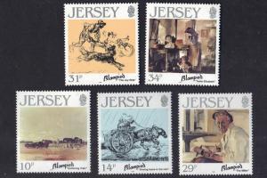 Jersey  1986  MNH  Edmund Blampied complete