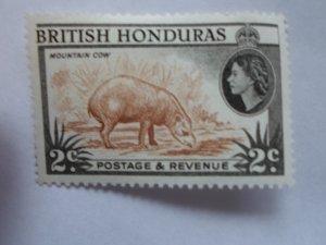 BRITISH HONDURAS STAMP MINT HINGE MARKS # 5