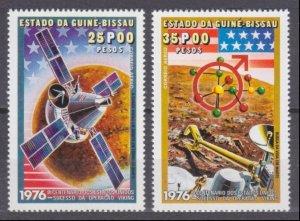 1977 Guinea-Bissau 420-421 Mars Viking exploration mission 5,50 €