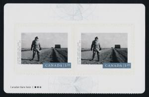 Canada 2821a Top Booklet pane MNH 150 Years of Photography, Geoffrey James