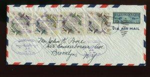 Puerto Rico Sanabria S1-15 Aerovias Nacionales Puerto Rico Inc Stamp & Cover Lot