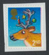 GB SG 3415 SC# 3119a 2nd Class  Used on piece Christmas 2012  see details