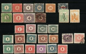 Uruguay BOB collection almost complete Postage Due #J1-J32 Mint & used