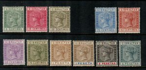 Gibraltar #29//38  Mint  Scott $263.75   Missing 31A