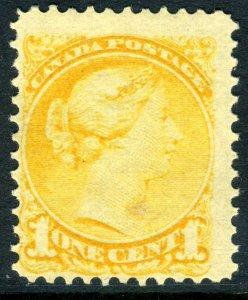 Canada 1897 Small Queen1¢ Yellow Scott #34 MNH V716