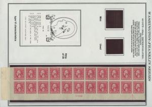 #534A PLATE # STR/22 WITH ARROW BLOCK ON PRESENTATION PAGE CV $1,850 WL9570