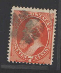 US 1871 Sc# 149 Used with Fancy Cancel VF-