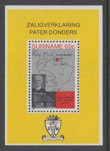 Suriname 599a Souvenir Sheet MNH VF