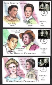 **US FDC SC# 4384 New York, NY 2/21/2009 Civil Rights Pioneers Collins