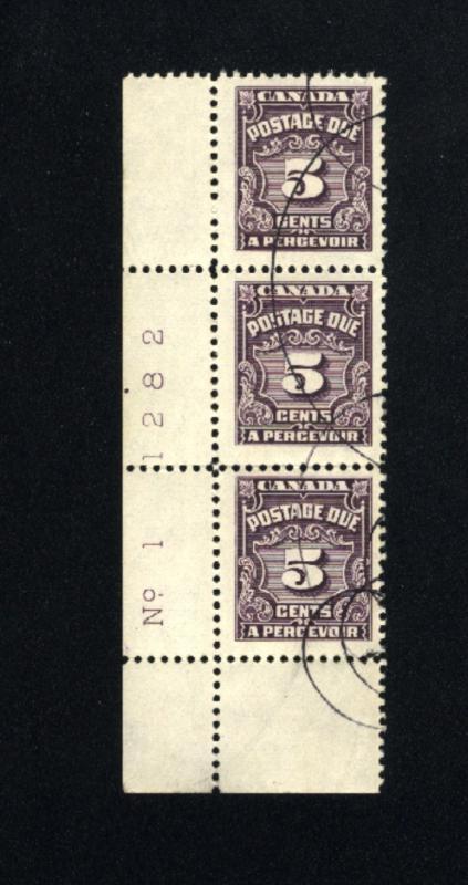 Canada #J18   used  1933-65 PD
