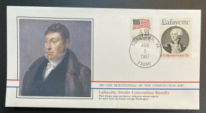US #1716,2115 Used on Cover - Bicentennial of Constitution 1787-1987 [BIC19]