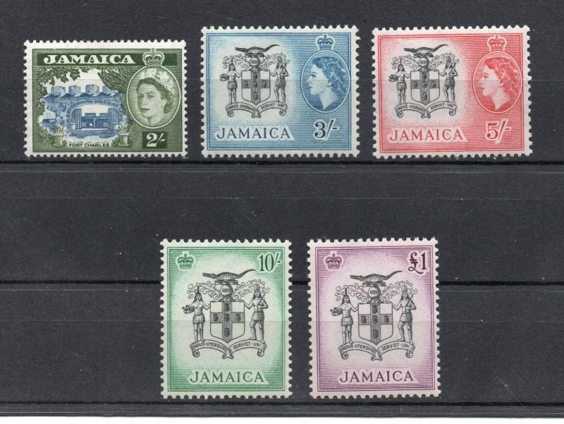 Jamaica - SG# 170 - 174 MVLH ( appear NH)  -  Lot 1218055