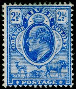 SOUTH AFRICA - Orange Free State SG142, 2½d brt blue, M MINT. WMK CA