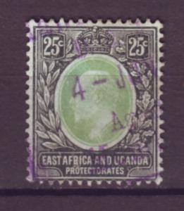J20966 Jlstamps 1907-8 E.africa & uganda proct used #37 king