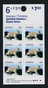 Canada 2715a booklet MNH Mountain Goat, Baby Animal