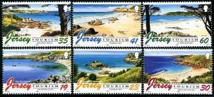 HERRICKSTAMP JERSEY Sc.# 761-66 1996 Tourism