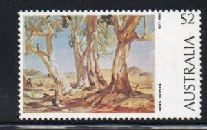 Australia Sc 574 1974 $2 Painting Red Gums stamp mint NH