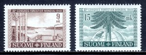 Finland - Scott #281-282 - MLH - Light crease LL #282 - SCV $5.50