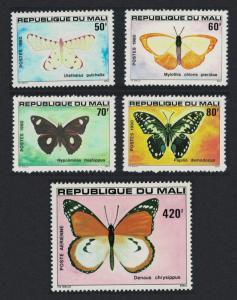Mali Butterflies 2nd series 5v SG#800-804