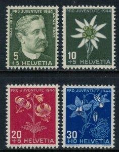Switzerland #B137-40* NH  CV $4.00