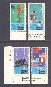 Tokelau Scott 33/36 - SG33/36, 1972 South Pacific Commission Set MNH**