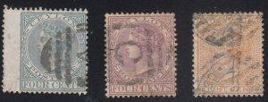 Ceylon - 1872-80 - SC 64-6 - Used