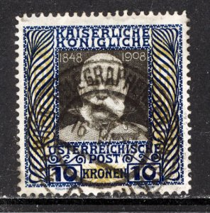 Austria 1908  Scott #127 used (CV 65.00)