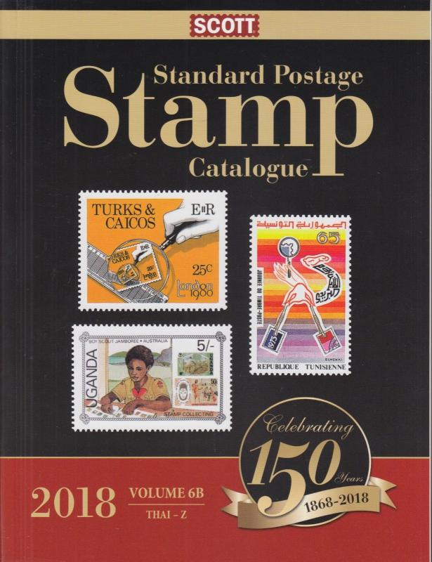 2018 Scott Standard Postage Stamp Catalog, full set of 12 volumes, gently used.