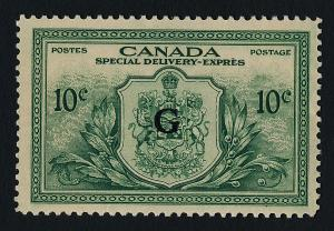 Canada EO2 MNH Crest, Speical Delivery