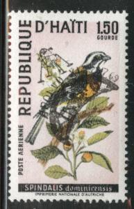 Haiti  Scott C344C Used  CTO Bird stamp
