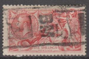 Great Britain #180 F-VF Used CV $125.00 (B11914)