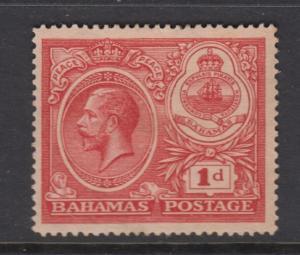 Bahamas -Scott 66 - Definitive - KGV -1920 - MH - Single 1p Stamp