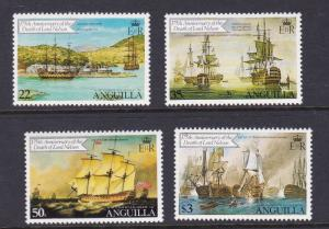 Anguilla 1981 ship Sc 429-432 MNH OurRef.#z0044