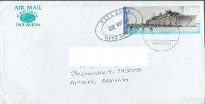 VANUATU LETTER TO ARTSAKH KARABAKH ARMENIA 2013 SHIP WAR R2021213
