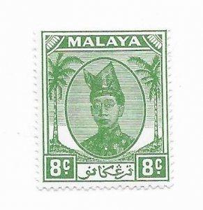 Malaya #69 MH - Stamp - CAT VALUE $1.60