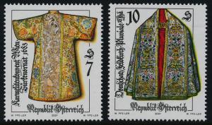 Austria 1851-2 MNH Religious Art, Vestment